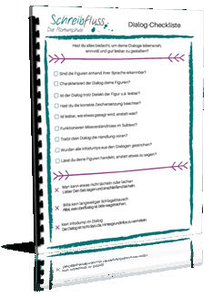 Dialoge schreiben Checkliste