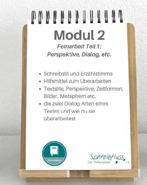 Modul 2 - Romane Überarbeiten Kurs