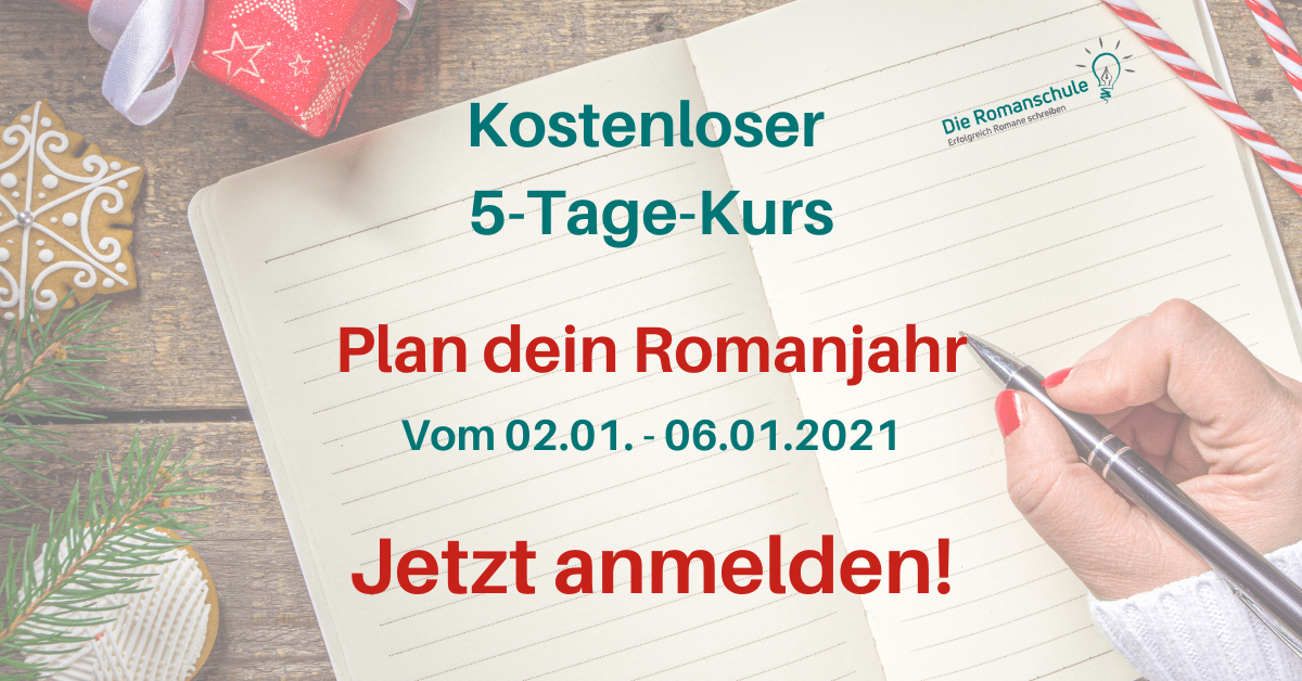 5-Tage-Kurs Plan dein Romanjahr (FB Ad) 3